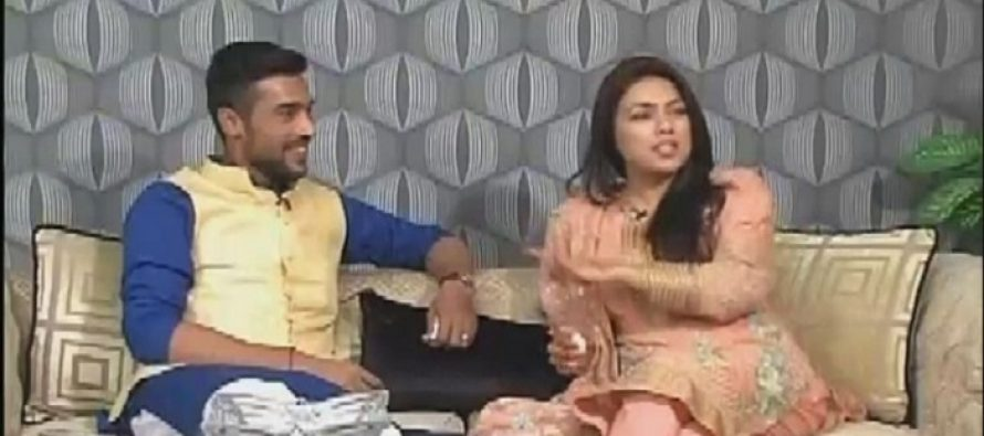 Cricketer Muhammad Amir's Wife Got Emotional While Sharing Their Love Story in a Live Show