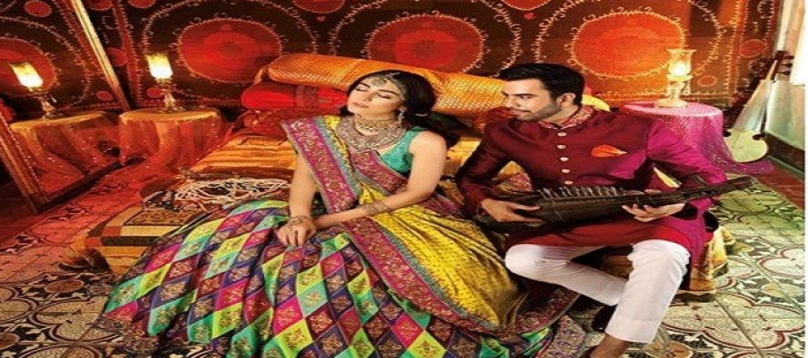 Bridal Shoot of Maya Ali & Junaid Khan For Deeya Jewllery and Nomi Ansari