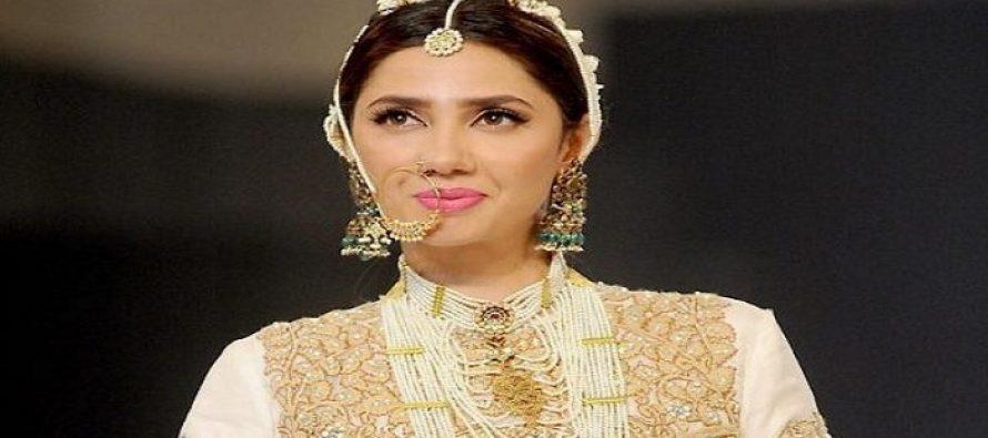 Mahira Khan at PFDC Loreal Bridal Week