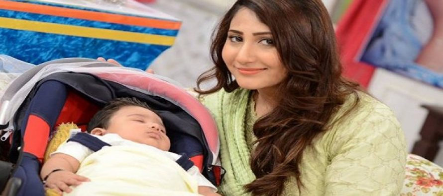 Pari Hashmi Blessed with a BabyBoy