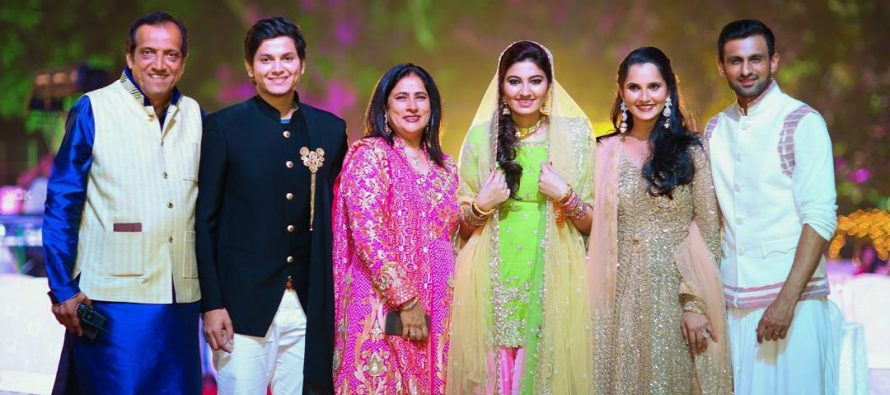 Bts Pictures From Anum Mirza's Sangeet