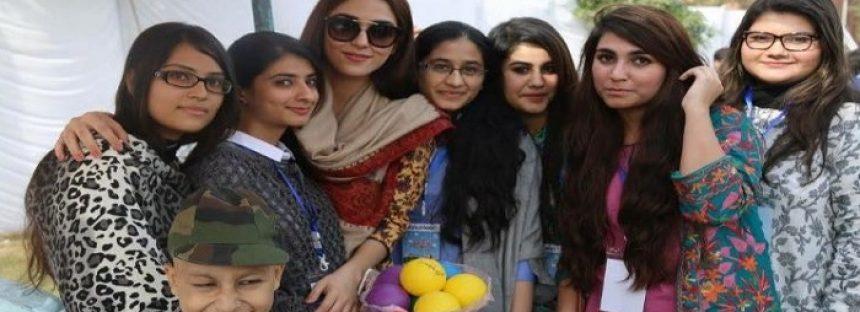 Maya Ali At The Shaukat Khanum Fun Mela