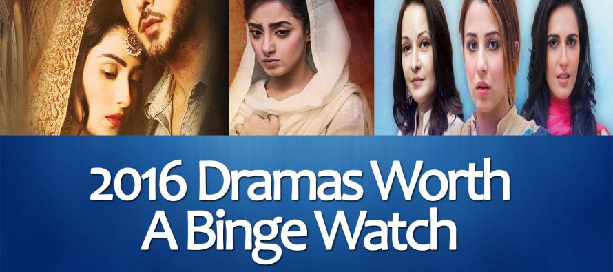 2016 Dramas Worth A Binge Watch