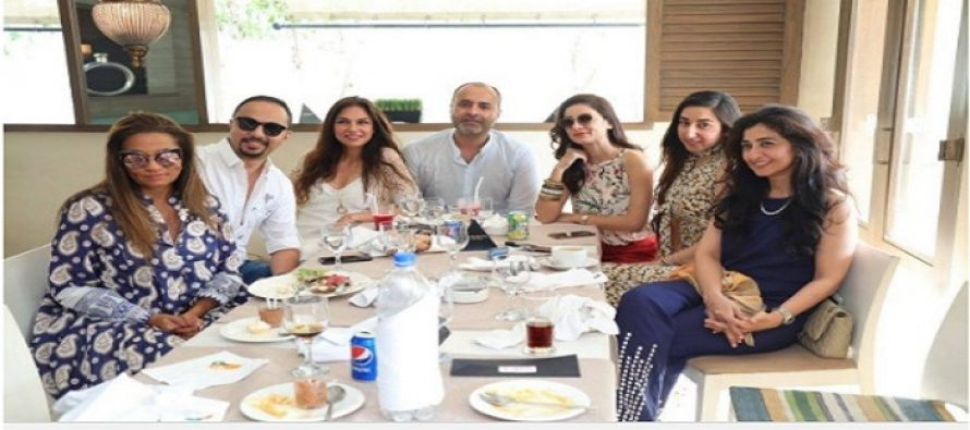 Celebrities from Fashion Pakistan Week 2016 Were Invited On a Brunch !