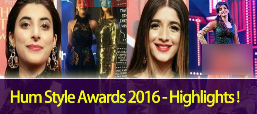 Hum Style Awards 2016 – Highlights!