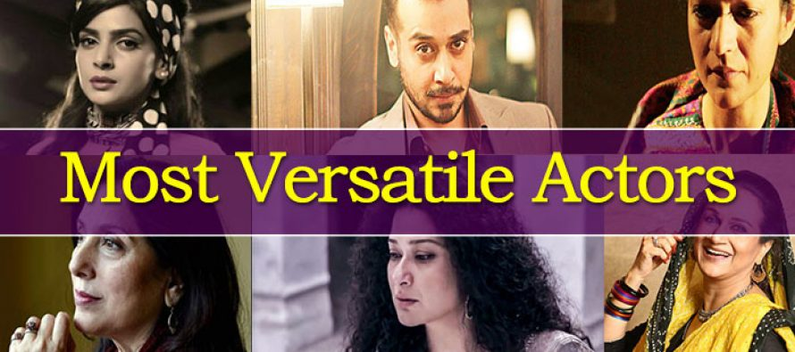 The Most Versatile Actors of Pakistani Drama Industry