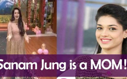Sanam Jung Is A Mom