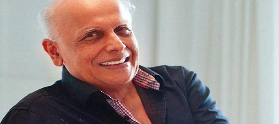 Mahesh Bhatt wants the ban on Pakistani artists to be lifted