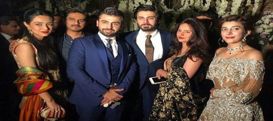 Celebrities at Urwa Hocane and Farhan Saeed's Wedding Reception