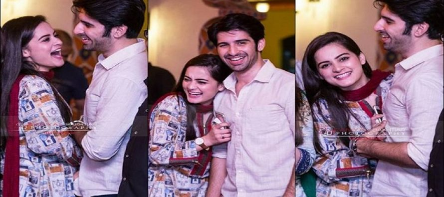 Aiman Khan and Muneeb Butt's Engagement Date Revealed