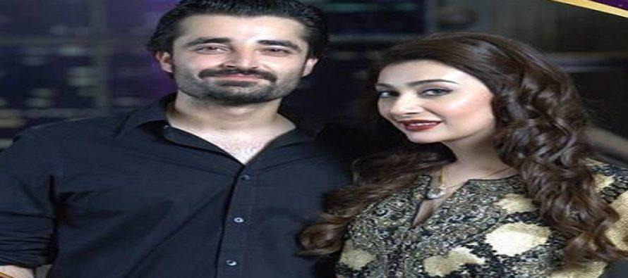 Hamza Ali Abbasi and Ayesha Khan jamming 'Aietbar'