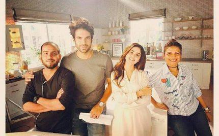 Adnan Malik & Sajal Ali working together