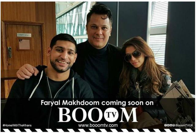 Amir Khan's wife denies faking the snapchat rant