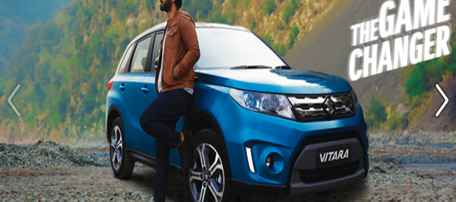 Fawad Khan is the brand ambassador of Suzuki Vitara