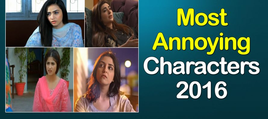 Most Annoying Characters 2016