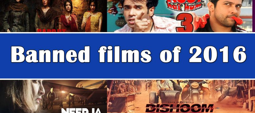 Banned films of 2016
