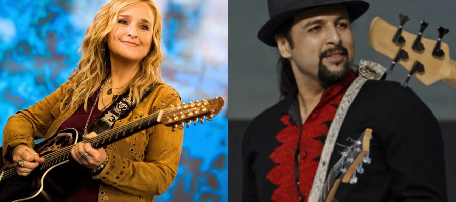 Salman Ahmad invited by Melissa Etheridge to perform in the US