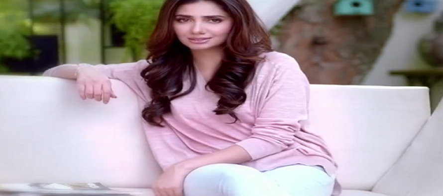 Mahira Khan shines in the latest TVC