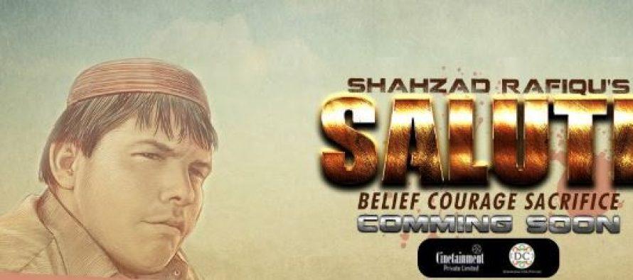 Shahzad Raffique's Salute
