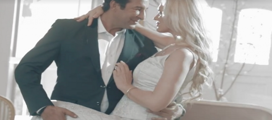 Wasim Akram and Shaniera Akram's music video released