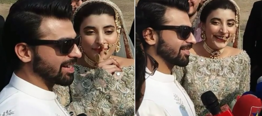 Urwa Hocane and Farhan Saeed spill the beans – Honeymoon and the Haq Meher