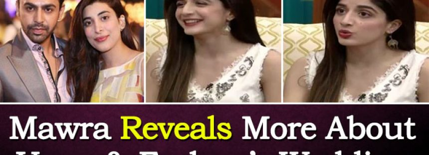 Mawra Reveals More About Urwa & Farhan's Wedding!