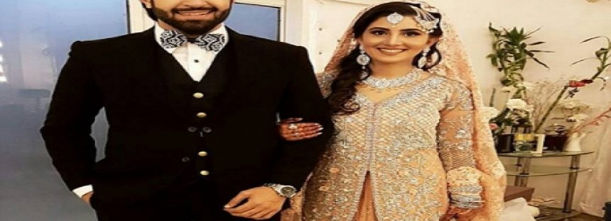 In pictures – Azfar Rehman's Wedding Reception