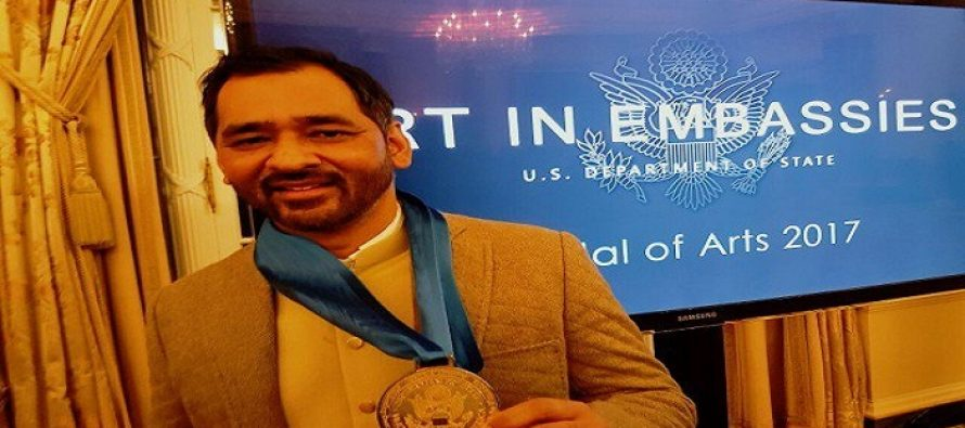 Imran Qureshi Becomes First Pakistani Artist To Be Honored With A Medal Of Arts Award