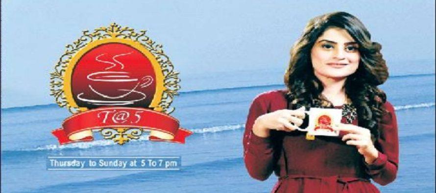 Amna Malik's Tea @ 5