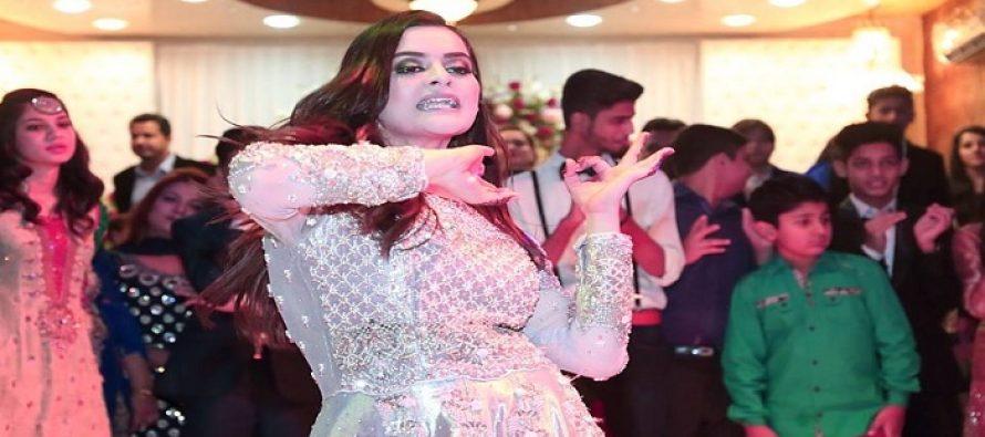 Minal Khan's Dance At Aiman Khan's Engagement