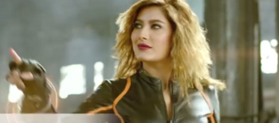 Mehwish Hayat Is Killing It In UC Browser's Latest Tvc