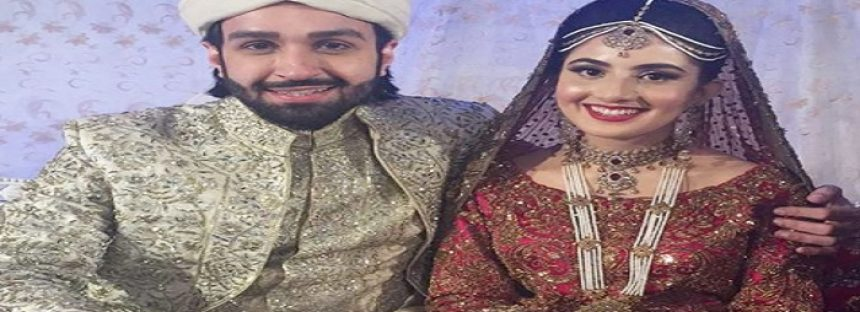 In Pictures – Azfar Rehman Got Married!
