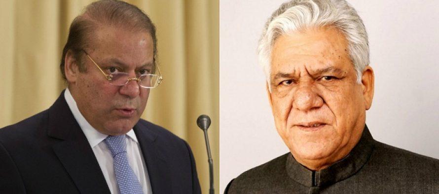 PM Nawaz Sharif Pays Tribute To Bollywood Veteran Actor Om Puri