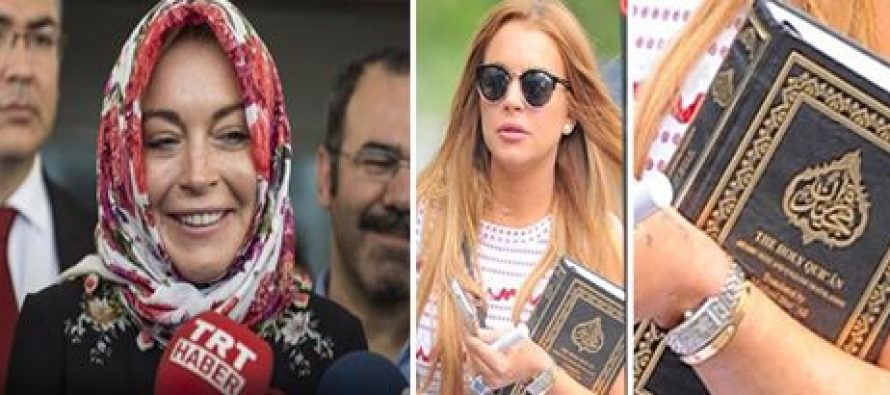 Lindsay Lohan's Instagram says 'Alaikum Salam' – Muslims Around The World Welcome Her To Islam