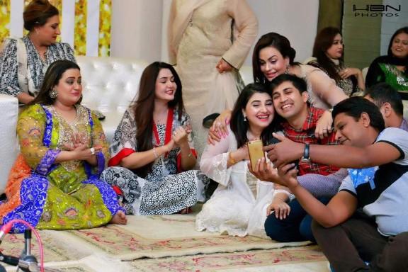 Celebrities At The Birthday Party of Javeria & Saud's Daughter