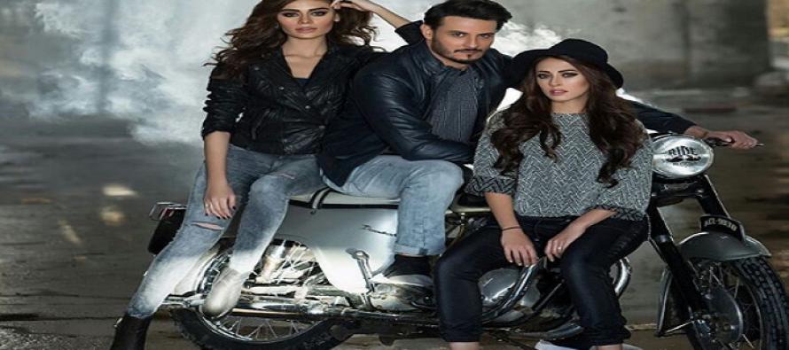 Ainny Jafri, Sadaf Kanwal and Osman Khalid Butt's Latest Photoshoot