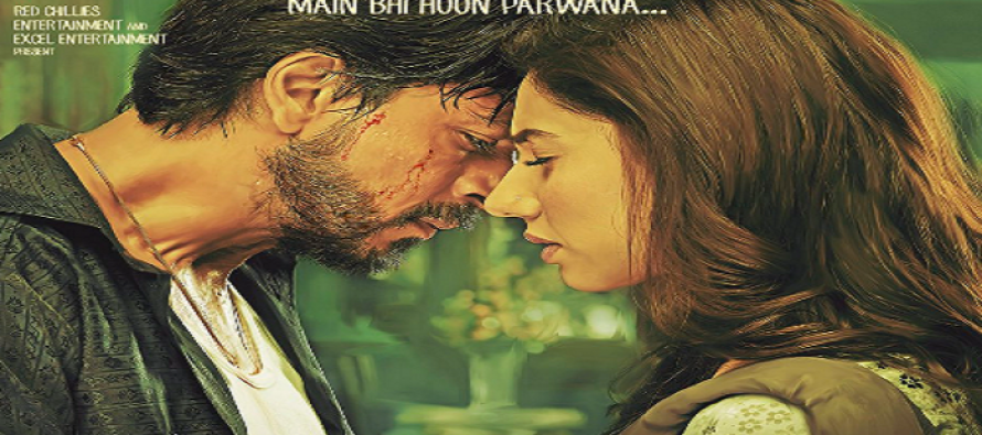 Mahira Khan Sizzles In The Latest Poster Of Raees