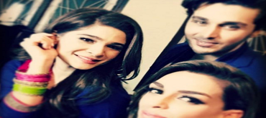 Ahsan Khan & Ayesha Omer's 'Rehbra' – The Shoot begins