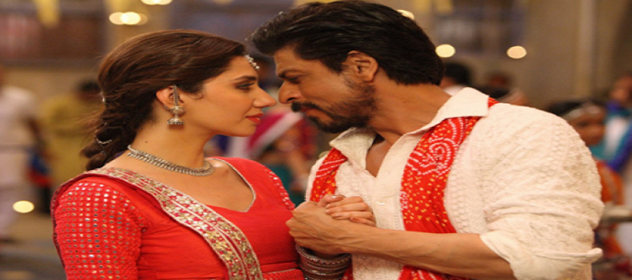 SRK-Mahira's Garba Look In These New Stills From Raees Is Dreamy!