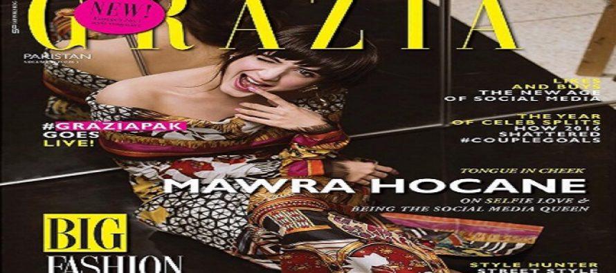 Fashion Magazine Grazia Launches in Pakistan