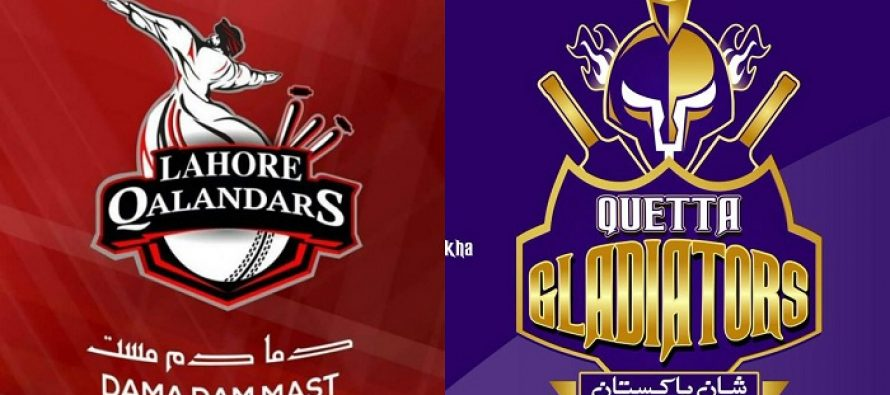 Songs Of Lahore Qalandars & Quetta Gladiators