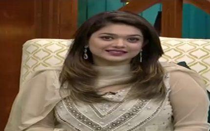 Sanam Jung Returns to Jago Pakistan Jago After 3 Months