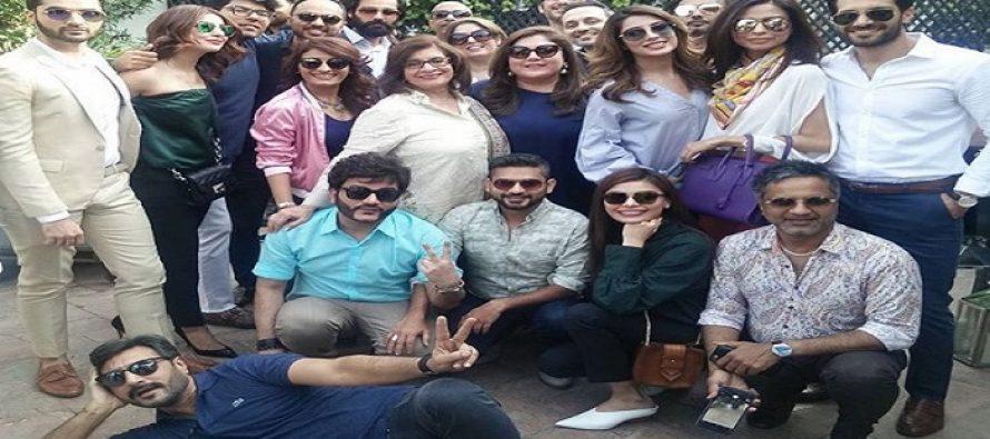 Celebrities At Hum Fashion Brunch