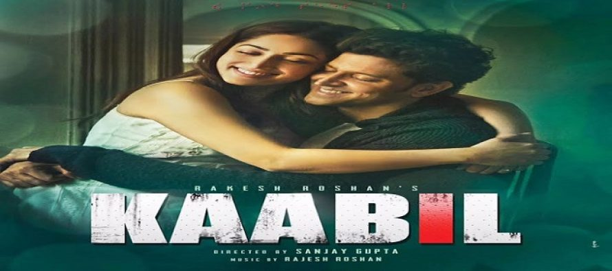 Hritik Roshan Tweets – Kaabil Starts Screening in Pakistani Cinemas Today