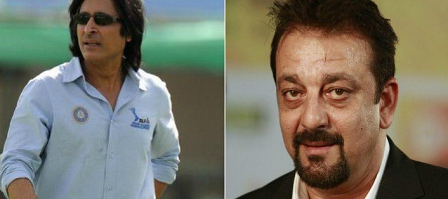 Ramiz Raja Casts Sanjay Dutt For His Debut Film Production