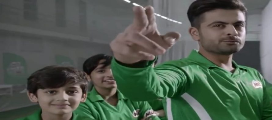 Ahmad Shahzad teaches the lesson of hard work in latest TVC