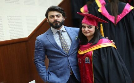 Fawad Khan Attends Sister's Convocation & Takes Over The Internet