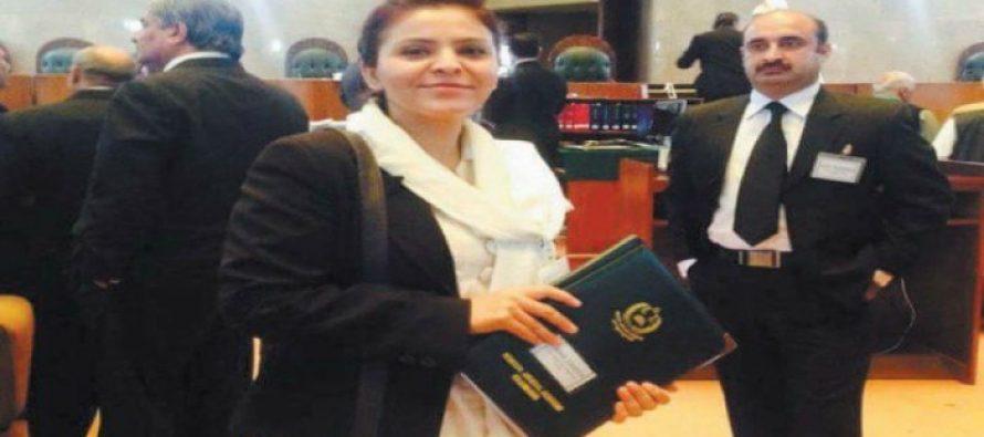 G-B's first female judge, Amna Zamir- a role model for women