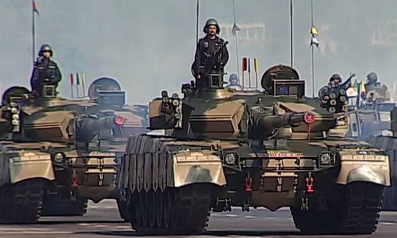 In Pictures: Military parade in Islamabad marks Pakistan Day celebrations