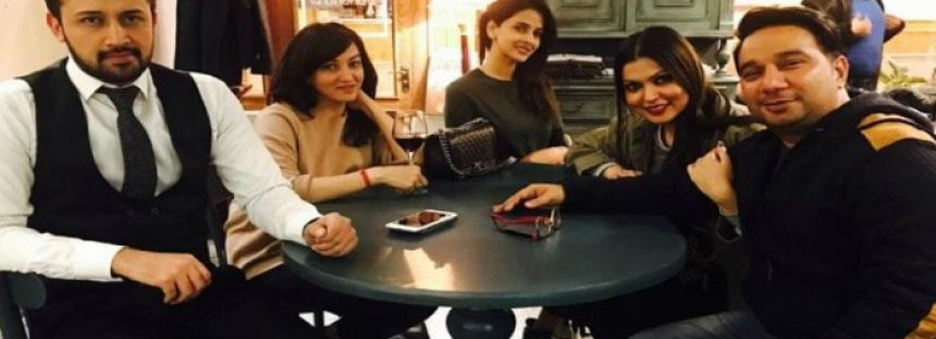 Atif Aslam sings for Saba Qamar's Bollywood debut 'Hindi Medium'